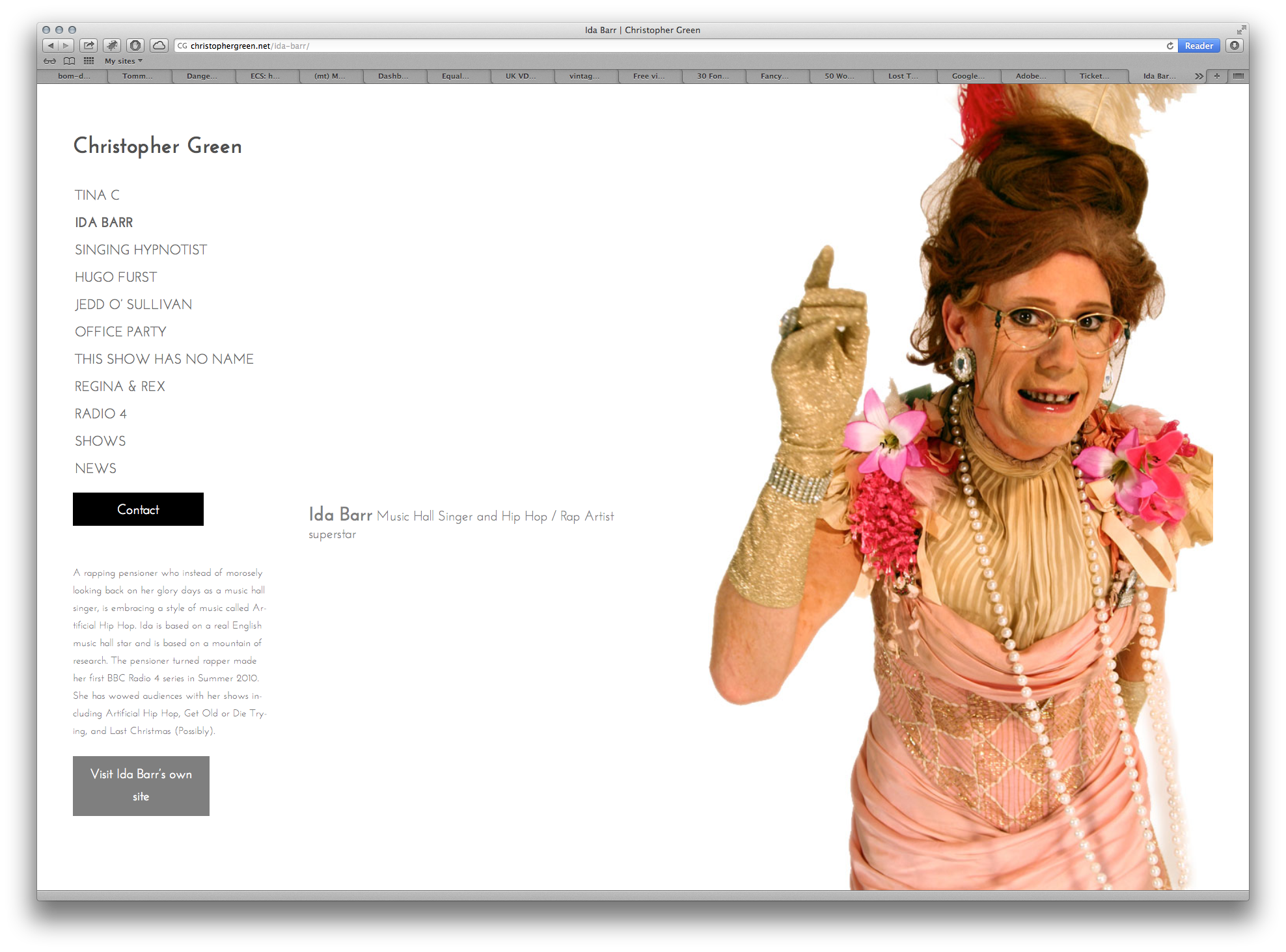 Ida Barr screen grab