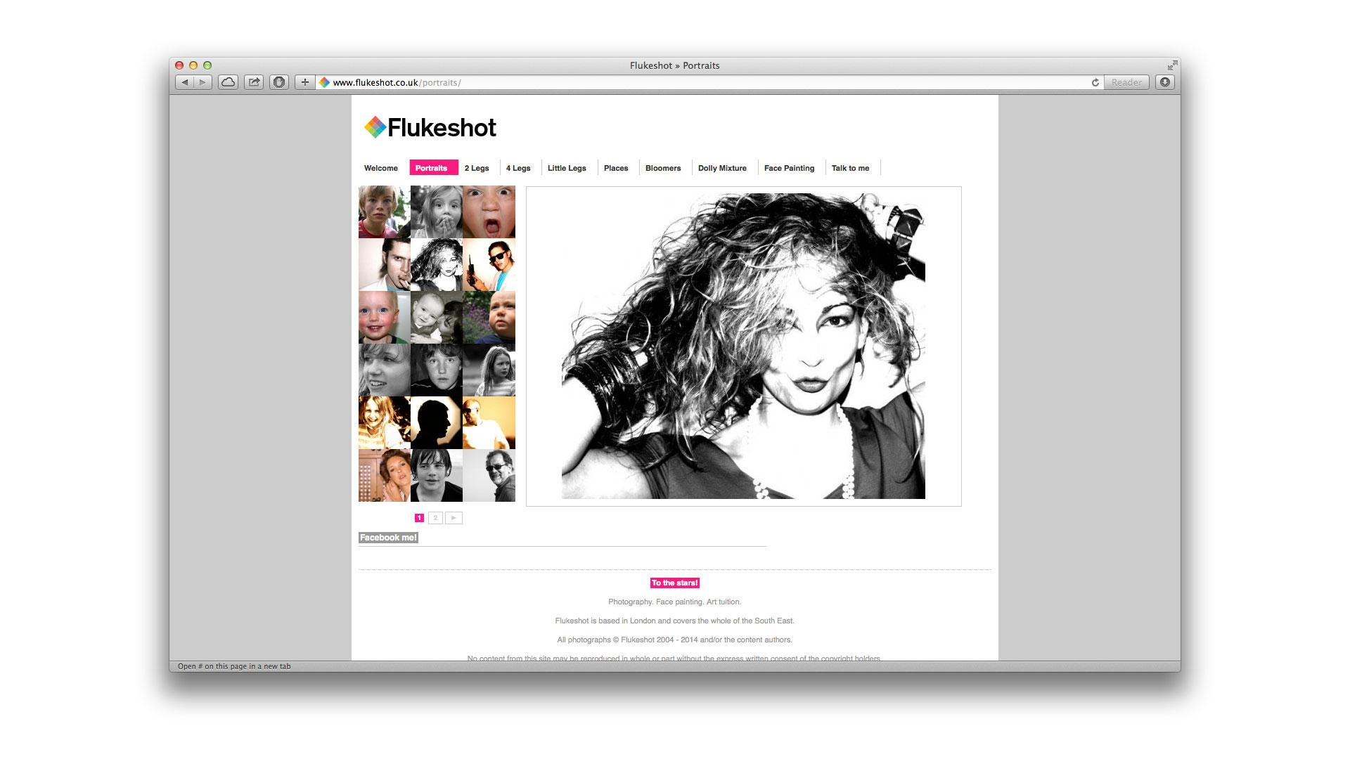 Flukeshot page