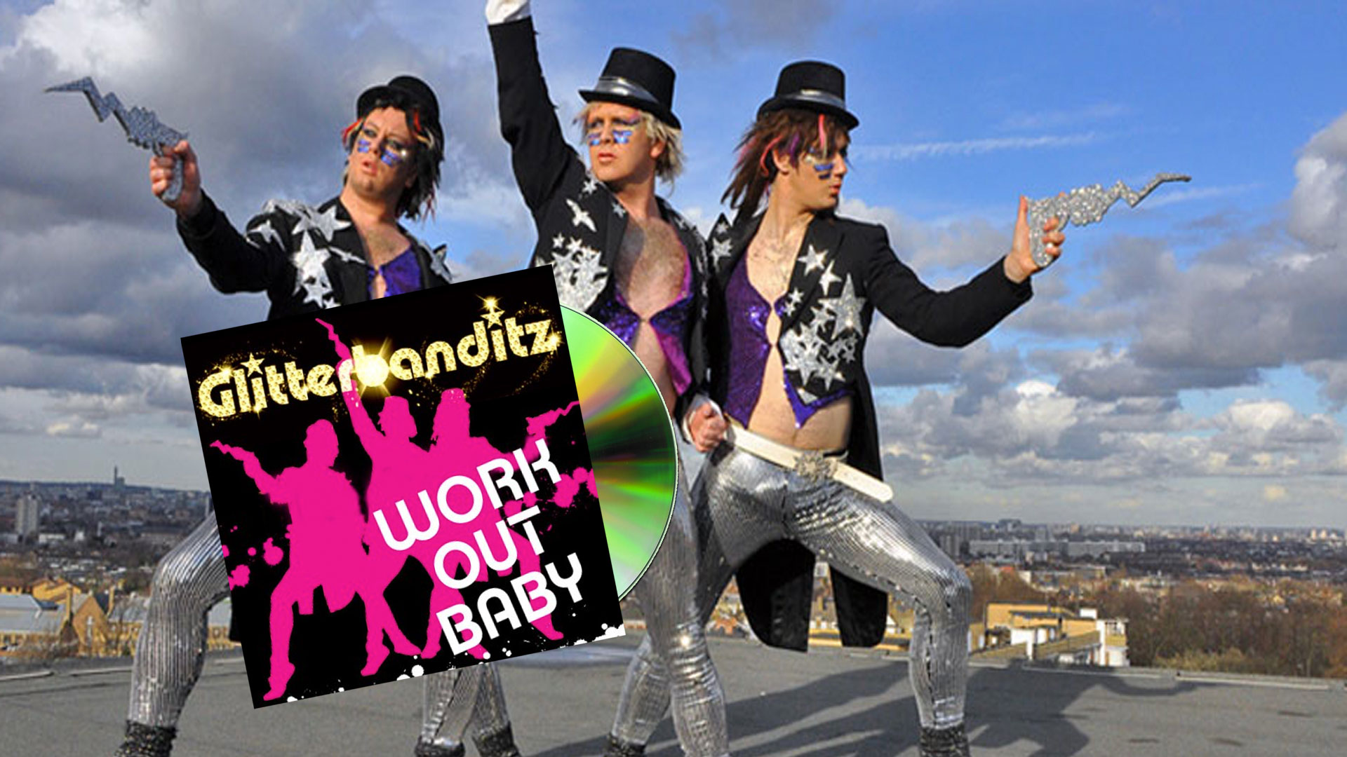 Glitterbanditz Work Out Baby packshot