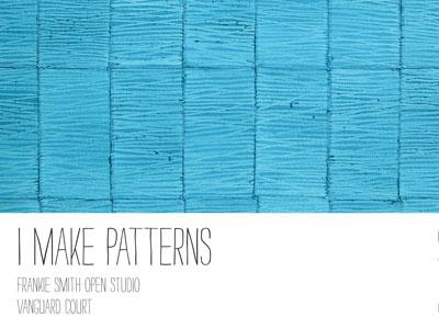 I Make Patterns