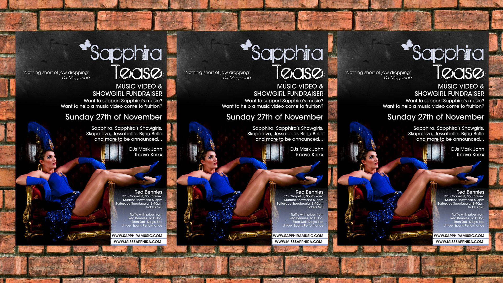 Sapphira - Tease poster