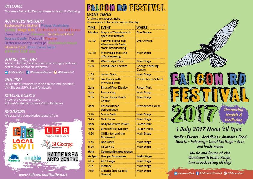 Falcon Rd Festival SW11